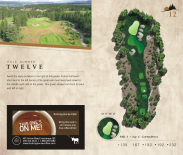 yardage book for copper point golf course