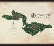full map from pueblo de cochiti yardage book