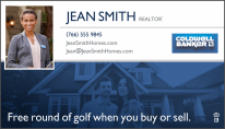 realtor advertisement for a yardage book